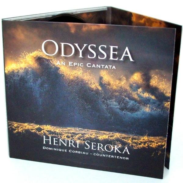 CD - Henri Seroka - ODYSSEA An Epic Cantata