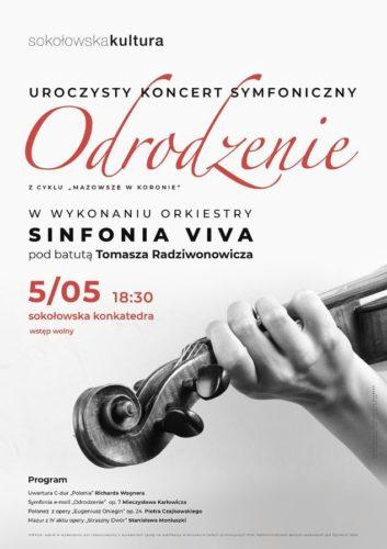 """Koncert symfoniczny """"Odrodzenie"""" Sokołów Oodlaski"""